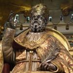 Alatri - Cattedrale di San Paolo: statua di San Sisto