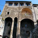Anagni - Palazzo Bonifacio VIII: le sostruzioni