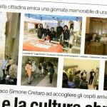 Foto apparse sul quotidiano La Provincia (2 ottobre 2013)