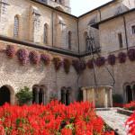 Veroli - Abbazia di Casamari: Chiostro e Campanile